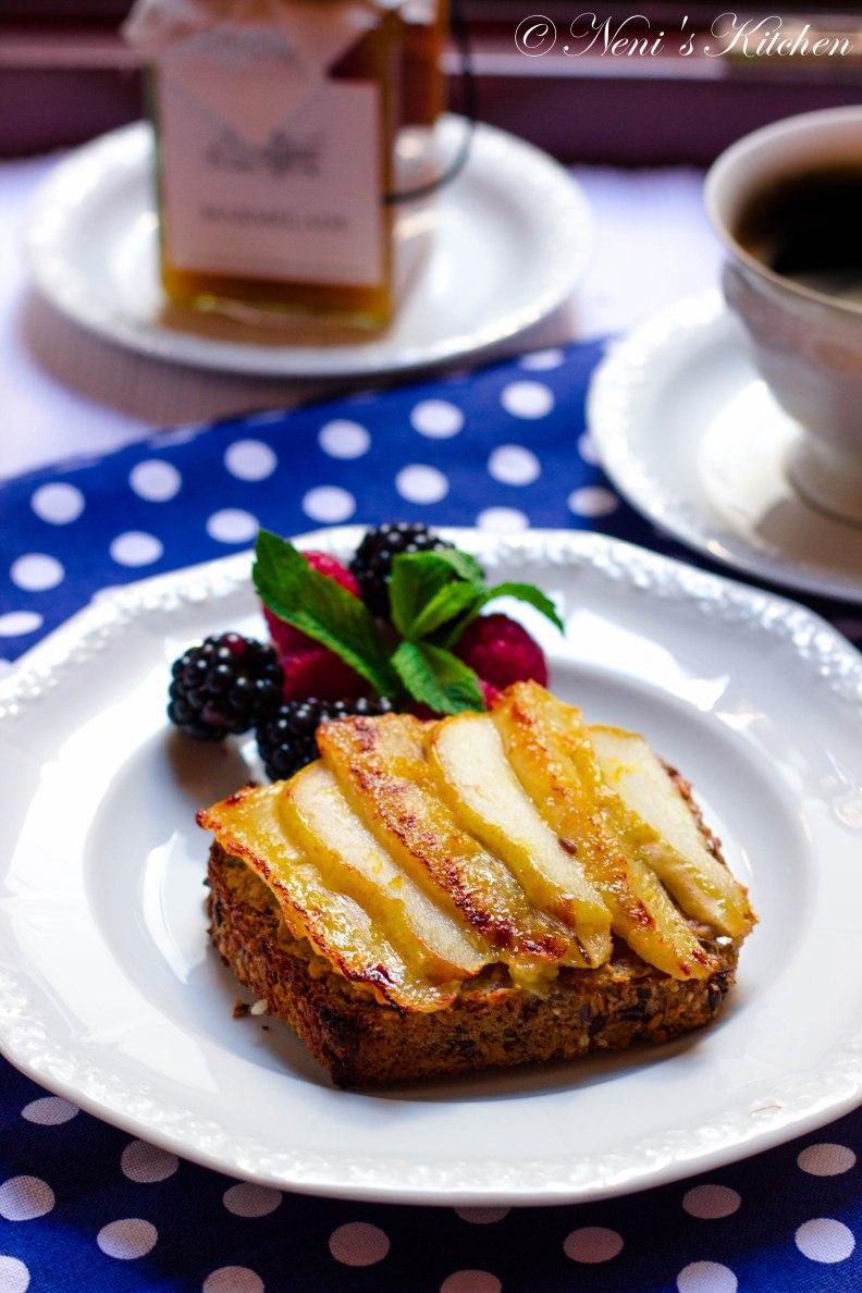 Monkey Breakfast Toastie 1