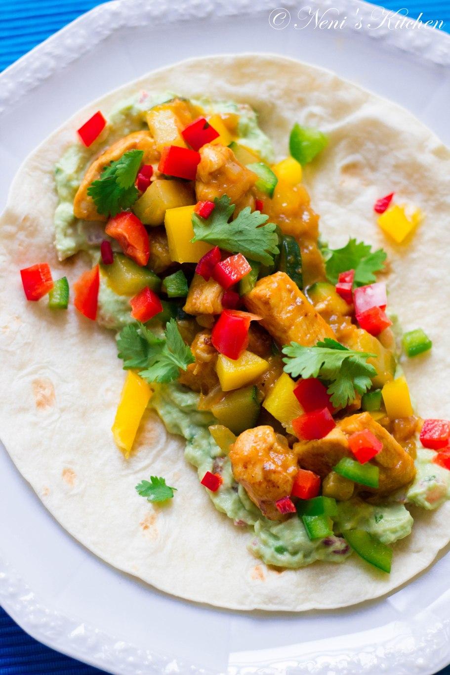 sweet & spicy mango chicken fajitas (1 von 1)-4