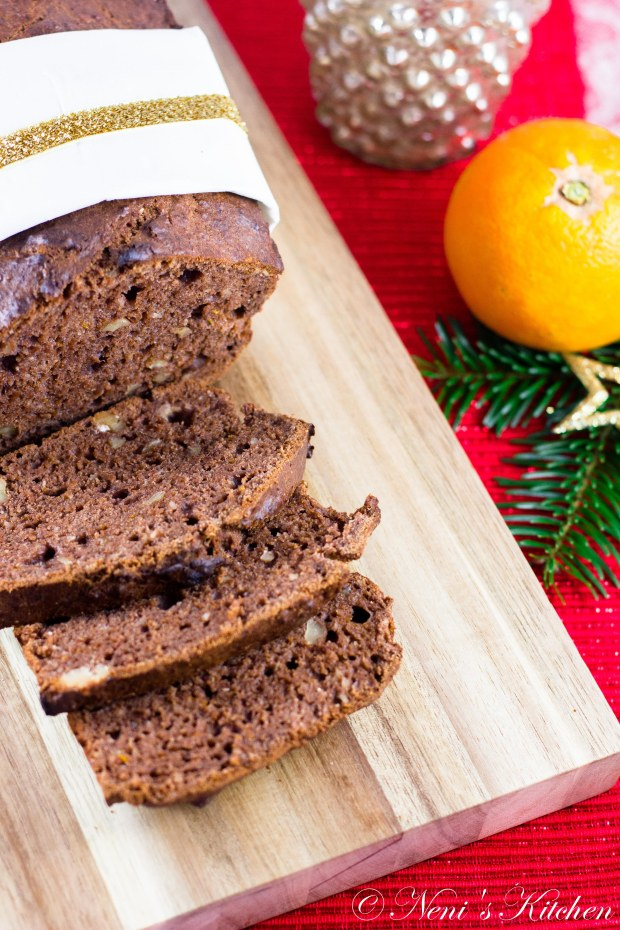 chocolate orange banana bread-2
