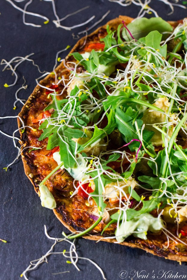 I'm going to heaven green power pizza-1