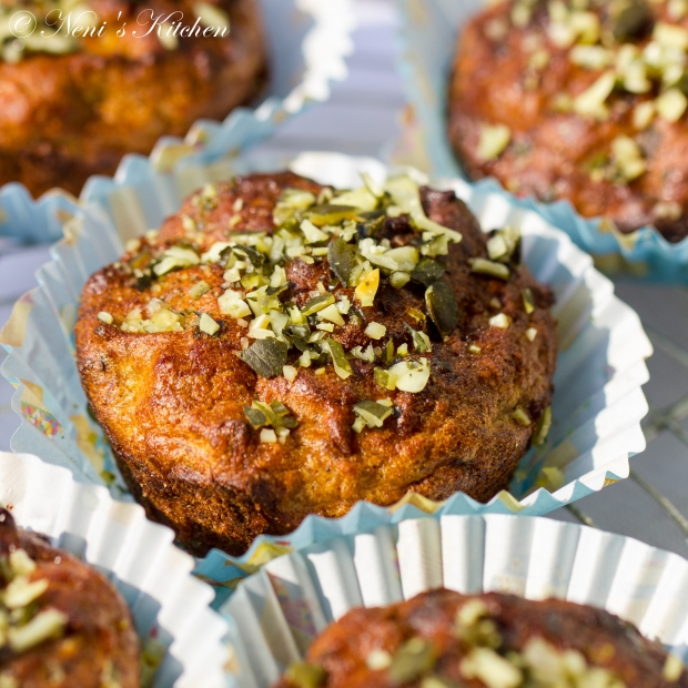 oh-so-healthy carrot muffins 15
