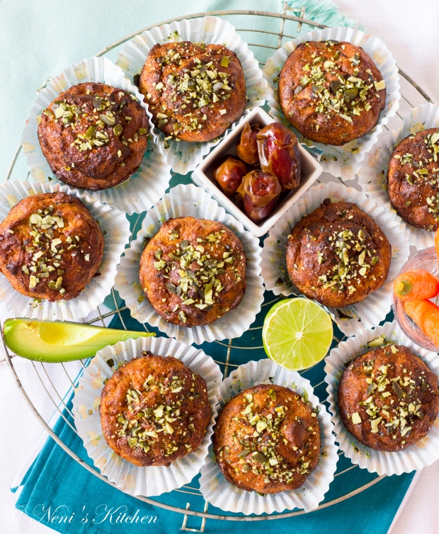 Oh-so-healthy carrot muffins 9